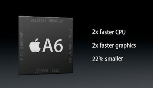 A6 Processor Is Actually Apple's Custom-Made Processor