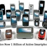 There Are Now 1 Billion of Active Smartphone Today
