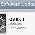 iOS 6.0.1 is Now Ready for Download