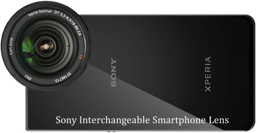 Sony May Plan to Release Interchangeable Lenses for Smartphone Next Month