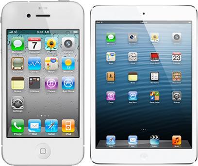 Apple iPad - Apple iPhone