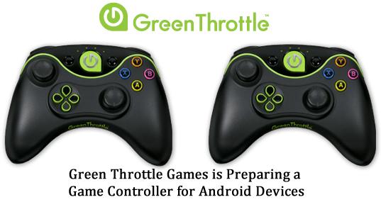 Green Throttle Games - Altas Game Controller