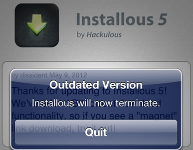 Installous for iOS
