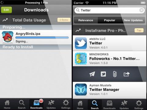 Pirated iOS App