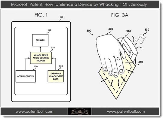 Future Windows Phone Devices Might Have Whack-to-Silence Feature