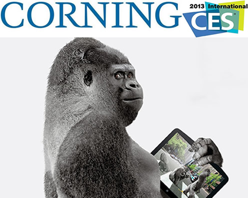 Corning Will Introduce Gorilla Glass 3 in CES 2013