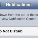 """Do Not Disturb"" Bug on iOS 6 Devices Will Automatically Correct Itself on January 7th"